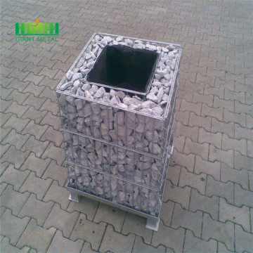 Flexible welded gabion box