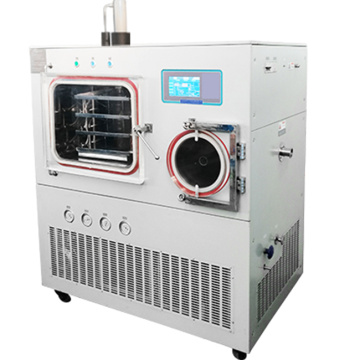 Top press pilot freeze drying lyophilizer