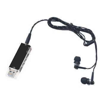 006 Escytegr 2 in 1 USB Pen 8GB Flash Drive Disk Digital Audio Voice Recorder Portable Mini Recording Dictaphone