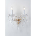 Modern Indoor Elegant Design Bedroom crystal wall light