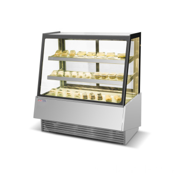 Commercial Cake Display Chiller Cake Display Fridge Showcase