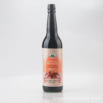 625ml Glass Bottle Superior Dark Soy Sauce