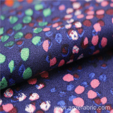 Cheap price 100% rayon spandex moss crepe fabric