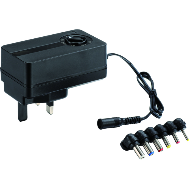 Universal AC DC Regulated Power Supply Switching Adapter