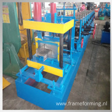 steel z purlin roll forming machine