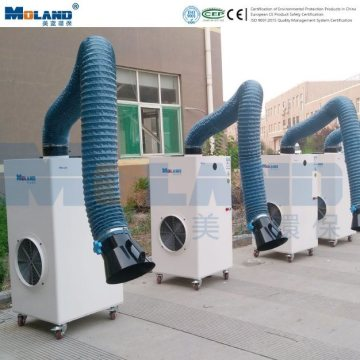 Flexible Suction Arm Welding Fume Extractor Dust Collector