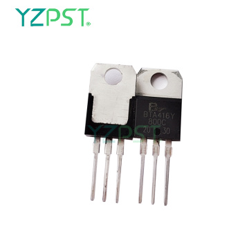 BTA416Y triac series is suitable to fit all models of control