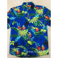 Custom Polyester printing hawaii shirt