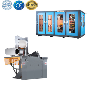Induction furnace parts aluminum melting machine for sale