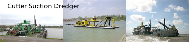 Marine cutter suction dredger price