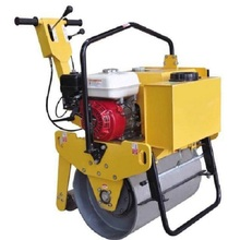 single drum road roller