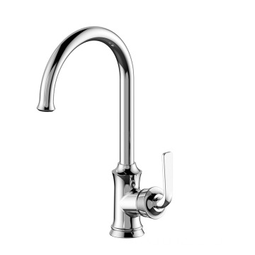 Brass Tap Sanitary Mixer Water Kitchen Faucet