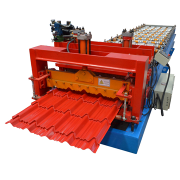 Glavanized metal steel glazed sheet roof tile machine