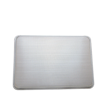 Perforated Aluminum Anodized Flat Baking Tray