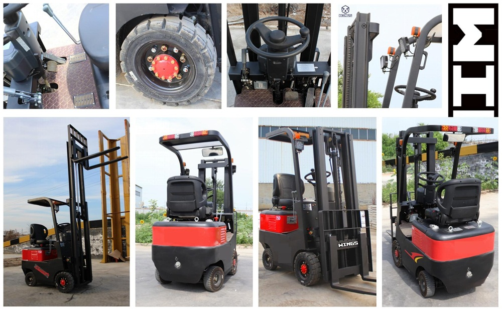 0.8ton Electric Forklift_small forklift