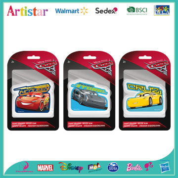 DISNEY&PIXAR CARS blister card Giant erasers