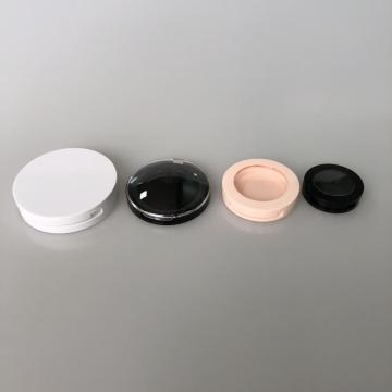 flat round compact case