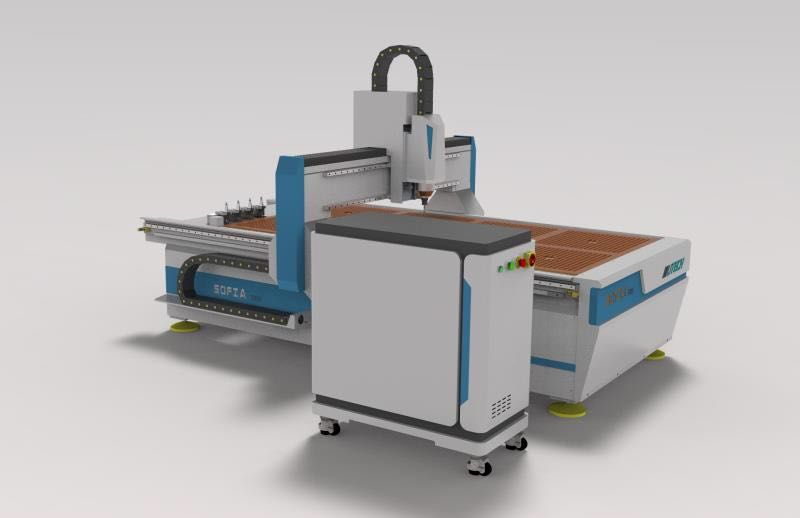 atc cnc router for funiture with discount price