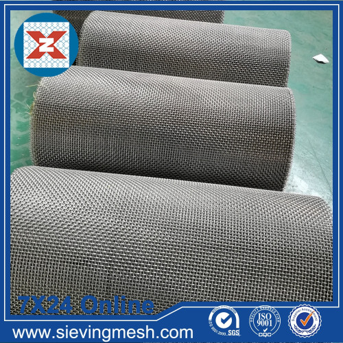 Stainless Steel Woven Crimped Wire Mesh