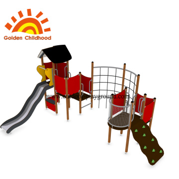 School multifunction outdoor playground equipment