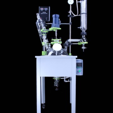 50l Chemical continuous stirred glass reactor