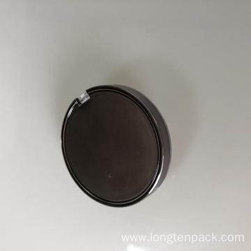 Round Compact Case with tray