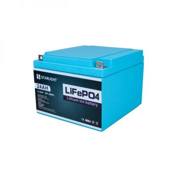 12.8V 24AH LiFePO4 Battery to Replace Lead-Acid Battery