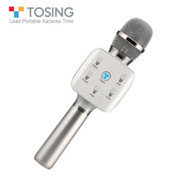 Tosing 02 Bluetooth Microphone Wireless Karaoke Microphone Condenser Magic Microphone KTV Singing Speaker Player Mic