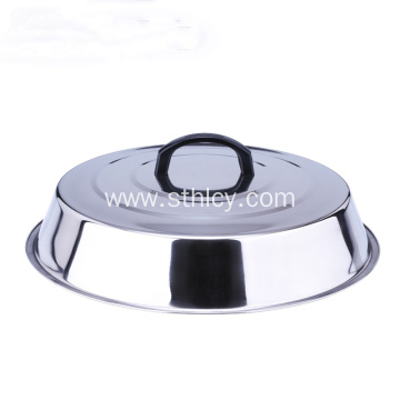Stainless Steel Without Magnetic High Lid