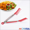 Non-slip Stainless Steel Bread Food Tongs For Baking