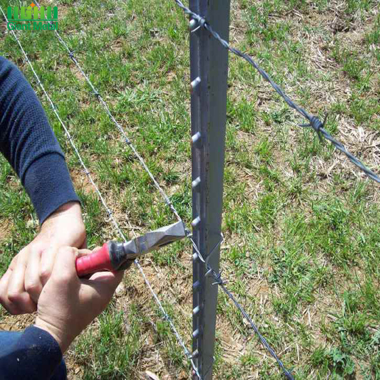 Lowes Studded Steel Fence T Vineyard Post