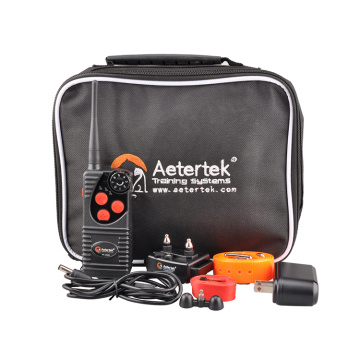 Aetertek AT-216D dog shock collar with 2 receivers