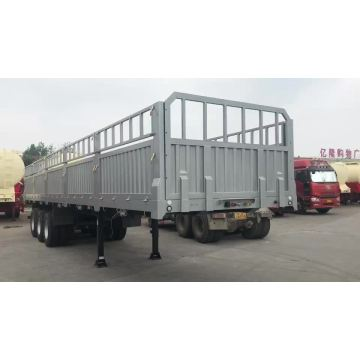 4Axles 70t stake cargo semi trailers