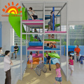 Kids Play Structure Equipment Indoor With Slide