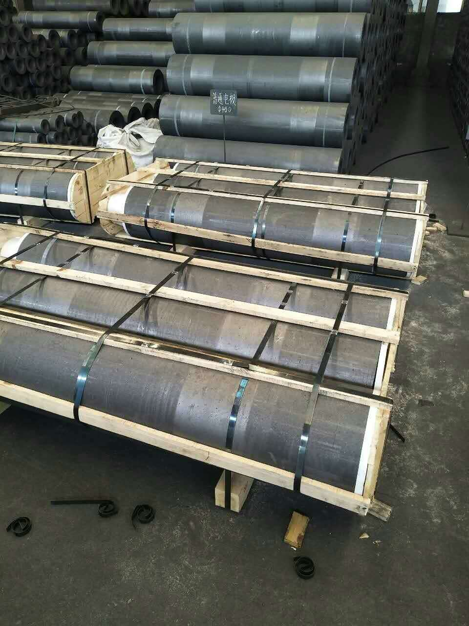 UHP 350 400 450 Length 1800mm Carbon Electrode