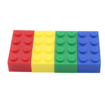 Cube USB Flash Drive Colorful