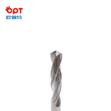 Solid carbide drills special polished for hole machining