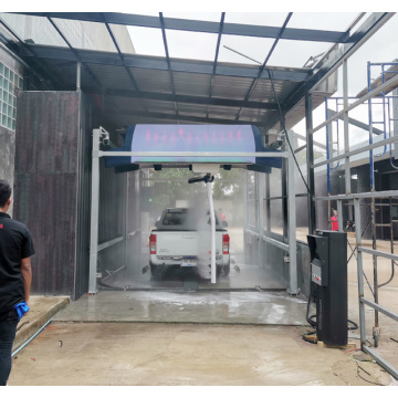 Automatic car wash design for business plan