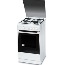 White Freestaning Oven 60cm Self-cleaning