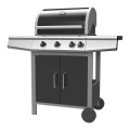 Stainless Steel Panel Gas Barbecue