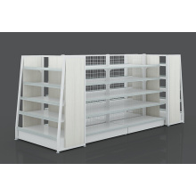 Steel-Wood Supermarket Shelf For Sale