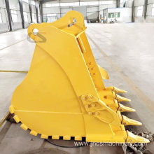 Long life extra antiwear heavy duty standard bucket for Cat E320GC excavator