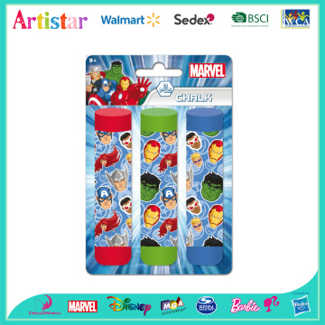 MARVEL AVENGERS chalk 3 pack