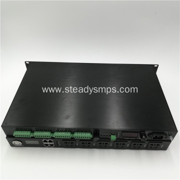19 inch rack mount 12vdc power supply 16ports