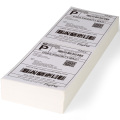 3 layer logistic shipping label thermal printer paper
