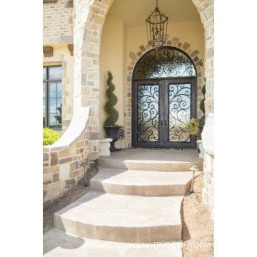 Swing Open Classic Iron Entrance Doors