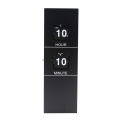 Black Battery Operated Hanging Wall Flip Clock