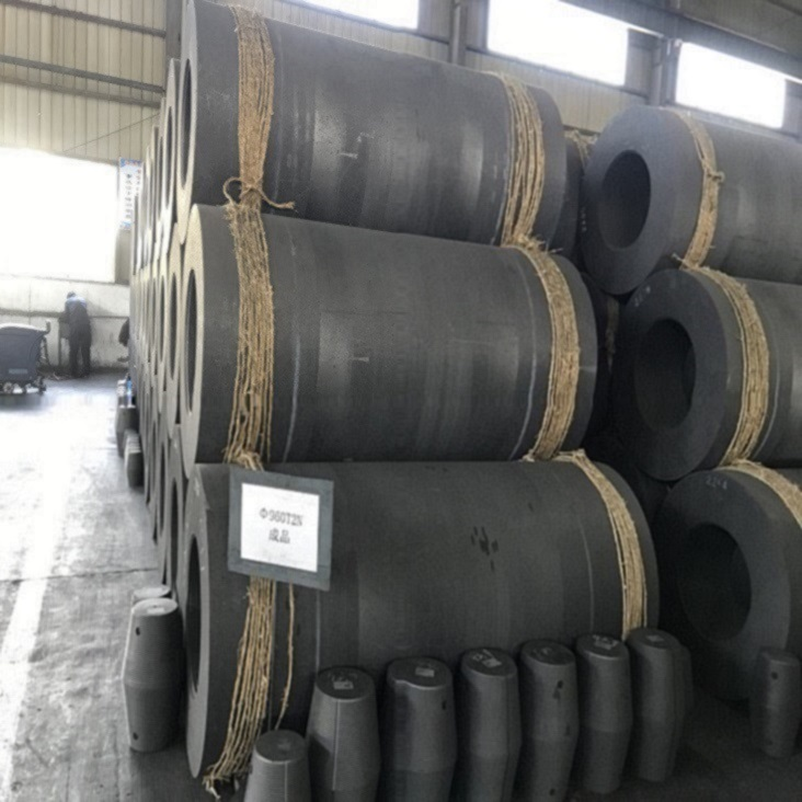 Graphite Electrode UHP 500-700 for steel smelting
