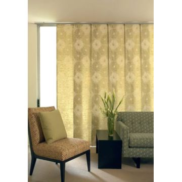 Motorized Window Vertical Panel Blinds Track