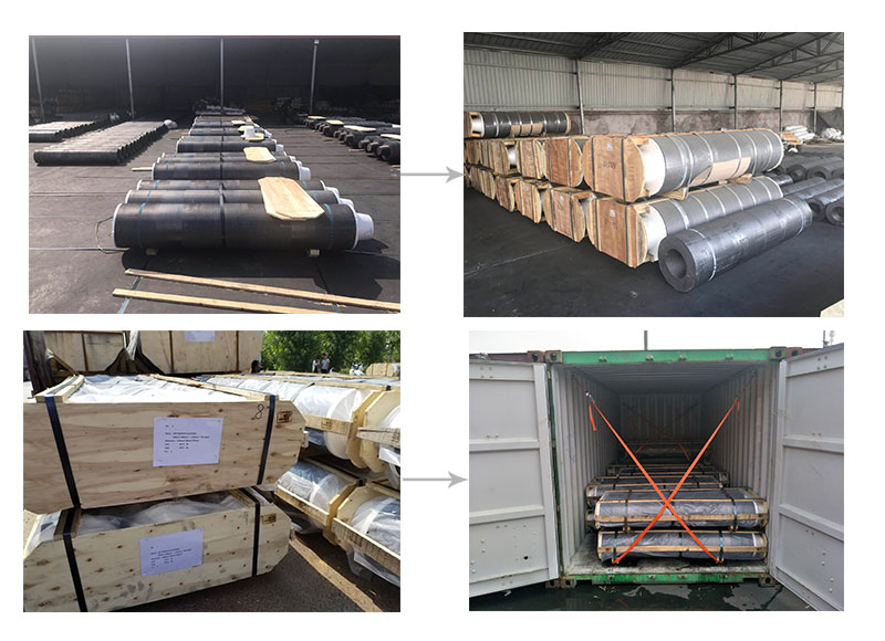 RP 500mm graphite-electrode steel making